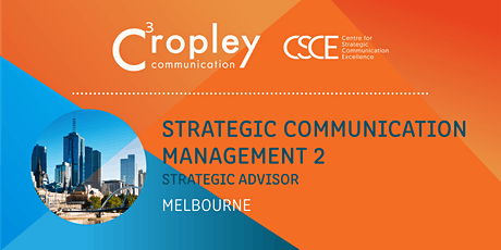 Strategic Communication Management 2: Strategic Advisor tickets