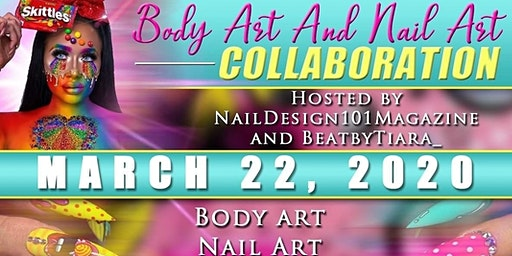 Nail Art-Body Art Collaboration