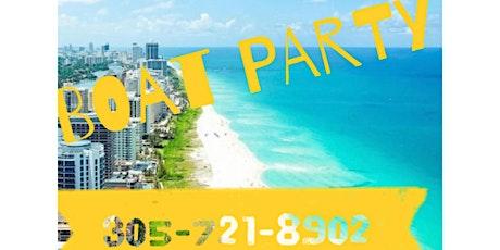 Spring Break Booze Cruise - Miami Party Boat tickets