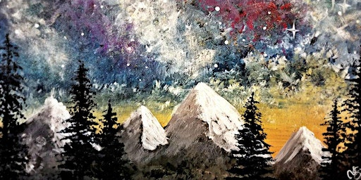 Paint Wine Denver Northern Lights Thurs Feb 27th 6:30pm $35