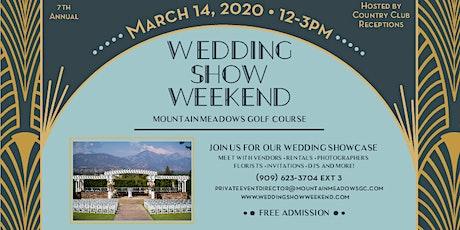 Wedding Show Weekend 2020 tickets