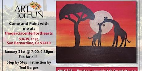 Safari Theme Painting  tickets