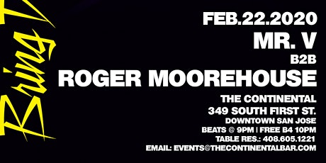 Bring Down The Walls Feat. Guest Roger MooreHouse tickets