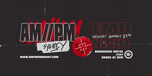 AM//PM Emo Night: Sydney