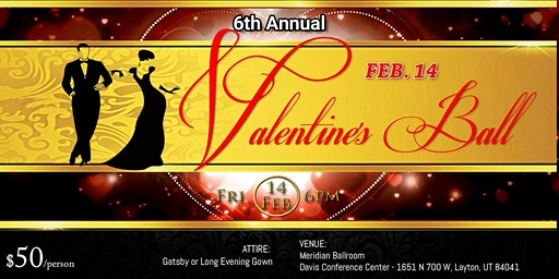 Davis County 6th Annual Valentine's Ball 2020