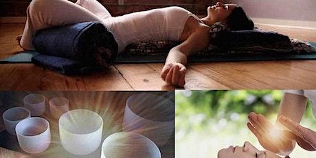 Restorative Yoga, Reiki and Sound Healing tickets
