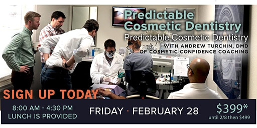 Predictable Cosmetic Dentistry with Andrew Turchin, DMD