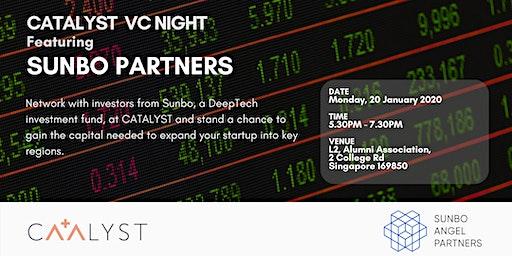 CATALYST Venture Capital Night -  Featuring Sunbo Partners