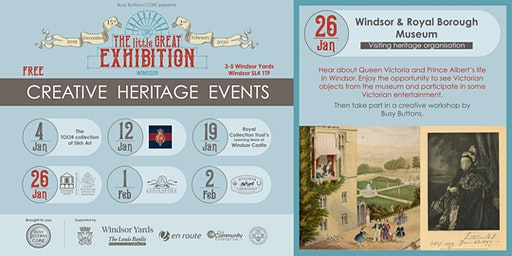Windsor and Royal Borough Museum at 'The little GREAT exhibition'