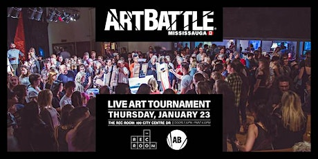 Art Battle Mississauga - January 23, 2020 tickets