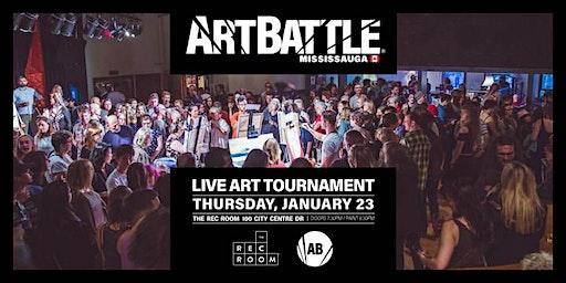 Art Battle Mississauga - January 23, 2020