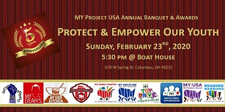 MY Project USA Annual Banquet & Awards 2020 tickets