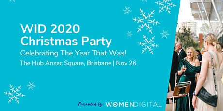 Women in Digital Christmas Party tickets