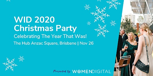 Women in Digital Christmas Party