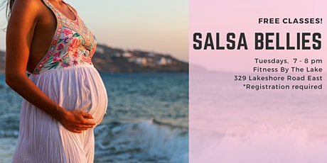 Salsa Bellies - Free Prenatal Dance Classes tickets