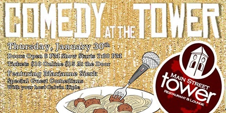 Comedy at The Tower - New Decade Edition tickets