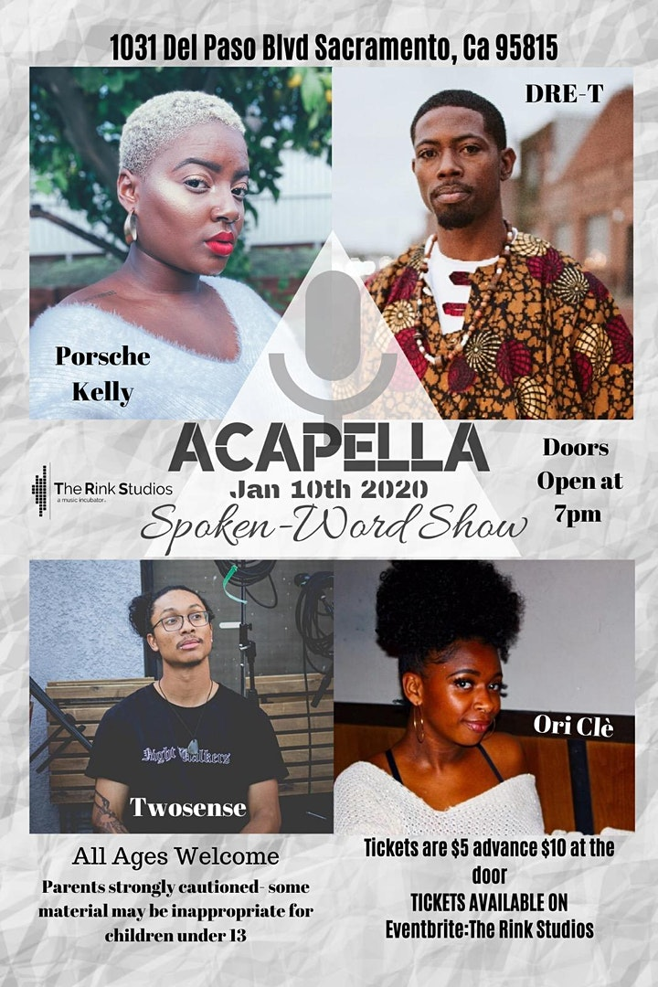 Acapella Poetry Night image