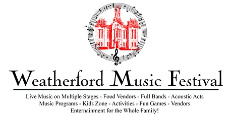 Weatherford Music Festival tickets
