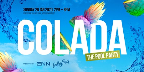 COLADA: The Pool Party tickets