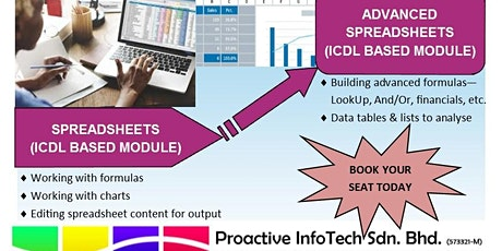 ICDL Spreadsheets tickets