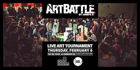 Art Battle St. John's - February 6, 2020 tickets