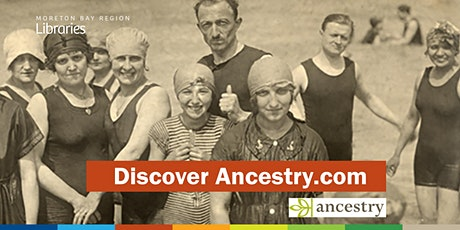 CANCELLED: Discover Ancestry.com - Caboolture Library tickets