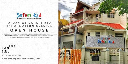 Open House- Safari Kid HSR