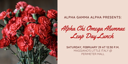 Alpha Chi Omega Alumnae Leap Day Lunch