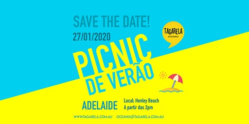 PicNic no Feriadão (Adelaide) Tagarela Intercâmbios