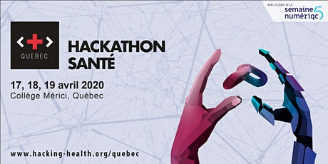Hackathon en santé - Hacking Heath Quebec billets