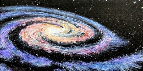 Paint Wine Denver Galactic Mon Feb 17th 6:30pm $30 tickets