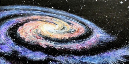 Paint Wine Denver Galactic Mon Feb 17th 6:30pm $30