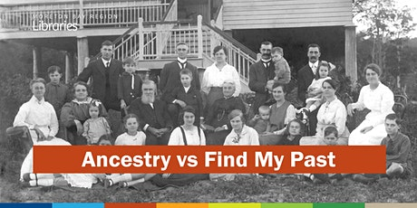 Ancestry vs Find My Past - Bribie Island Library tickets
