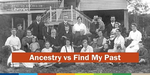 Ancestry vs Find My Past - Bribie Island Library