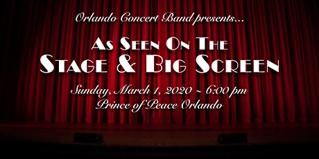 "Orlando Concert Band: ""As Seen on the Stage & Big Screen"" tickets"
