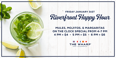 Riverfront Happy Hour tickets