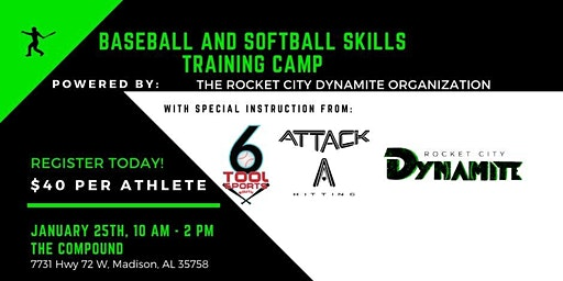 BASEBALL & SOFTBALL SKILLS TRAINING CAMP