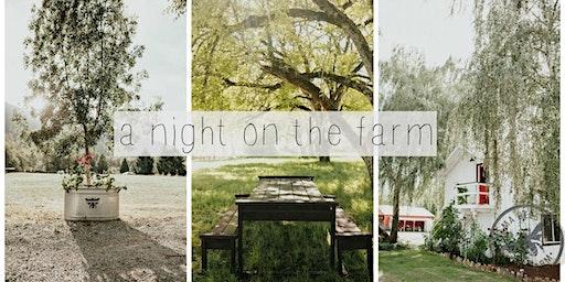 A Night On The Farm