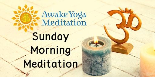 Sunday Morning Meditation