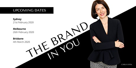 The Brand in You- Personal Branding for Women  tickets
