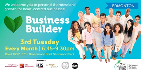 YHE Business Builder - Edmonton - Chronic Illnesses & Social Media tickets