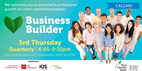 YHE Business Builder - Calgary - Prevention (Health & Business Safety) & Marketing tickets
