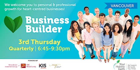 YHE Business Builder - Vancouver - Chronic Illness tickets