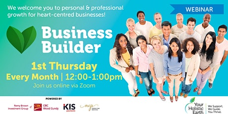 YHE Business Builder - Online Noon - Budgeting & Cash Flow tickets