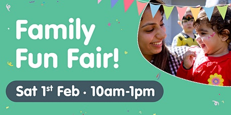 Family Fun Fair at Milestones Early Learning Gulliver tickets