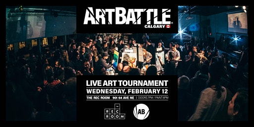 Art Battle Calgary - February 12, 2020