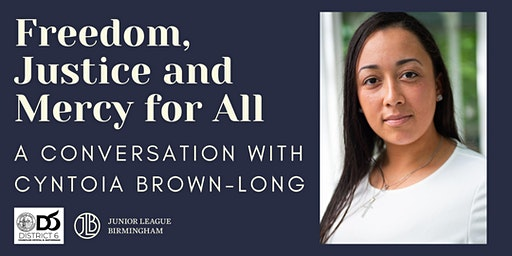 Freedom, Justice, and Mercy for All: A Conversation with Cyntoia Brown-Long