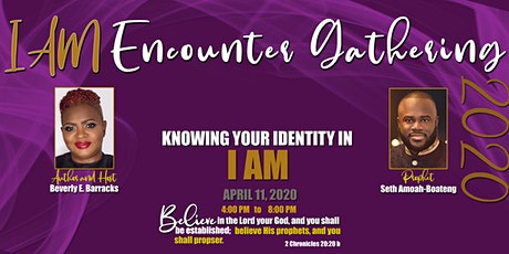 I AM Encounter Gathering 2020  tickets