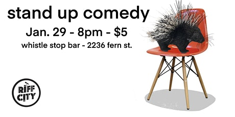 Stand-up Comedy @Whistle Stop Bar tickets