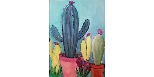 Prickin' Awesome Cactus (Orange)